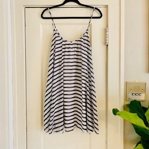 Scoop neck, stripped EXPRESS, sundress